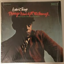 "Archie Shepp ‎""Things Have Got To Change"" Vinyl LP USA 1971 Beautiful copy!"