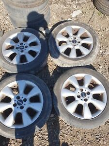 BMW Mini Set Of Alloy Wheels And Tyres 195/55/RF16