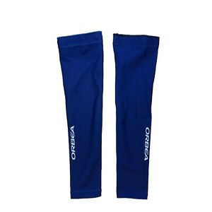 Men's 2017 Jakroo UHC Pro Cycling Quest Thermal Arm Warmers, Blue, Size S EUC
