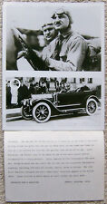 BLACK & WHITE PHOTOGRAPH ~ LOUIS CHEVROLET ~ WITH NEWSPAPER CAPTION