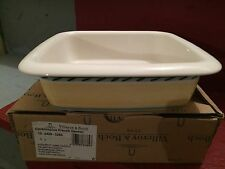 "Villeroy & Boch FRENCH GARDEN 8"" Square baking dish"