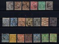 Q139721/ FRANCE – YEARS 1876 - 1900 USED CLASSIC LOT – CV 135 $