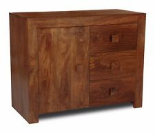 DAKOTA DARK MANGO FURNITURE SMALL SIDEBOARD (02N)
