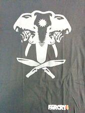 New Far Cry 4 T Shirt Sz Med* Primal PS4 XB1 Ubisoft Elephant Borderlands FPS PC