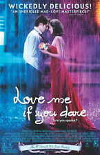 Love me si te atreves Movie Poster 27x40 B Guillaume Canet Marion Cotillard