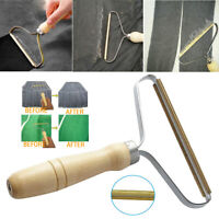 Portable Woolen Clothes Lint Remover Manual Fuzz Fabric Shaver Roller Tools SS