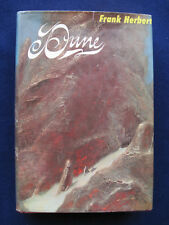 DUNE - SIMPLY SIGNED by FRANK HERBERT Award Winning Sci-Fi Classic in Jacket