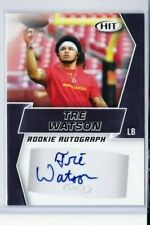 2019 SAGE HIT TRE WATSON ROOKIE BLACK AUTO A10 MARYLAND DOLPHINS PD