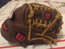 "Wilson A1K Pro Staff Adult Snug 11.25"" Baseball Glove RHT A1K0SA41788 New"