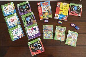 HUGE (15)  Lot Leap Frog-Start~DVD~LeapPad~books~Homeschool~Pre-K~levels 1 2 3 4