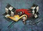 2-PACK RAT ROD HOT ROD STICKER   CHOPPER   RAT FINK GAS OIL RACING TOOL BOX