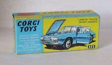 Repro box CORGI Nº 332 LANCIA FULVIA sport zagato