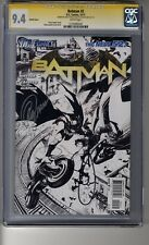 Batman (2011) # 2 1:200 Sketch RI - CGC  9.4  WHITE  Pages SS2X Capullo & Snyder