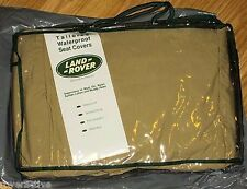 Land Rover Brand Range Rover L322 OEM 2003-2006 Front Sand Beige Seat Cover Set