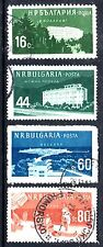 Bulgaria - 1958 Spa's - Mi. 1048-51 FU
