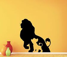 Lion King Wall Decal Simba Vinyl Sticker Art Disney Poster Nursery Decor 148crt