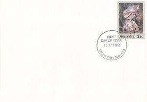 (13834) Australia Postal Stationery FDC Wildlife 1980
