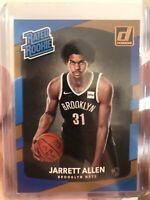 2017-18 Panini Donruss #179 Jarrett Allen Rated Rookie RC Brooklyn Nets NBA QTY