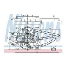 Fits Fiat Panda 1.2 LPG Genuine OE Quality Nissens Engine Cooling Radiator Fan