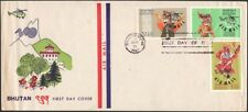 BHUTAN, 1967. First Day Cover Airs C1-3