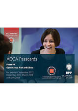 ACCA P1 Governance, Risk and Ethics: Passcards by BPP Learning Media | Spiral-bo