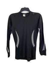 Helly Hansen Shirt Women's M black workout top Stay Dry Technology long sleeve