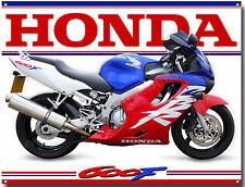HONDA CBR 600F MOTORCYCLE METAL SIGN.CLASSIC HONDA ROAD BIKES,MAN CAVE SIGN