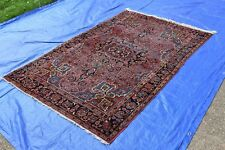Antique Persian Sarouk Rug 4.6x7