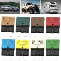 Circuit Breaker Blade Fuse 12V-24V Auto-Reset 5A-30A Marine Rally Automotive New