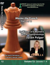 WINNING CHESS THE EASY WAY - Volume 12: Mastering The French - Part 2 of 3 DVD