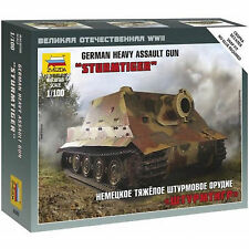 Zvezda 1/100 15mm German Sturmtiger platoon 2 x heavy assault guns Flames of War