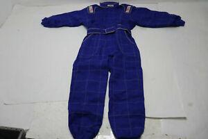 G-FORCE Karting SUIT 645 BLUE KART Child's Race Racing Gear Jacket / Pants  NEW