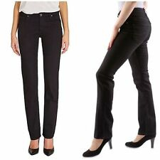 Lee Marion Regular Straight Leg  Black Ladies Jeans W28-L33 BNWT