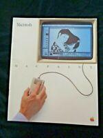Vintage 1983 Macintosh Apple Computer Macpaint Manual Guide Instruction Booklet