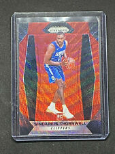 2017-18 Panini Prizm red wave prizm refractor Sindarius Thornwell RC basketball