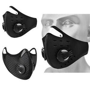 Activated Carbon Filter Mouth muffle Outdoor Sport Face Mouth Cover Protector