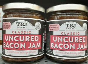 TBJ Classic Uncured Bacon Jam  (**2pack of 9oz Jars**)