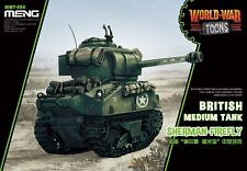 Meng Model WWT008 British Medium Tank Sherman Firefly (Q Edition)