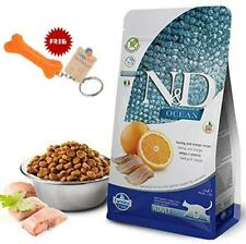 Indian Goofy Tails- Farmina N&D Ocean Herring & Orange Adult Cat Food , 1.5 kg