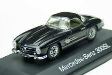 Mercedes 300 SL Roadster W198II Bj. 1957-1963, schwarz, Schuco-Modell im M. 1:43