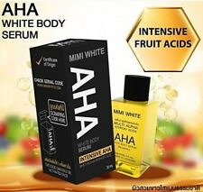 MIMI WHITE AHA Whitening Body Serum Bleaching Brightening Skin Vitamin B C 30 ml