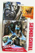 Transformers AUTOBOT HOUND Action Figure 2014 NEW Quick Draw Age Extinction