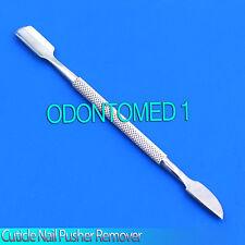Cuticle Nail Art Pusher Spoon Remove Remover Manicure Pedicure Scraper Knife Kit