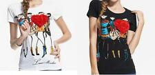 New Shirt love moschino  red heart, trendy, short and long sleeve