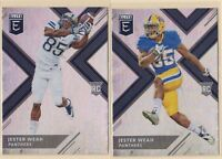 2018 PANINI ELITE DRAFT PICKS RC   VARIATION & BASE  Jester Weah  Houston Texans