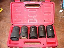 AUTOMANN 5 PC WHEEL NUT SOCKET SET 210.2005K IN CASE