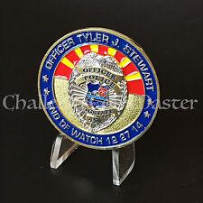 B77 Flagstaff Arizona Police Department Memorial CHALLENGE COIN