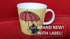 Moomin Mug Arabia LITTLE MY YELLOW umbrella mumin becher moumine boy summer