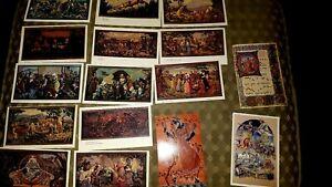 postcards, artwork