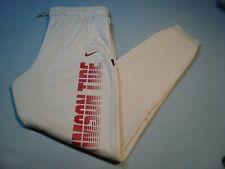 Nike Alabama Crimson Tide Sideline BRAND NEW Athletic Pants Bama Roll dri fit